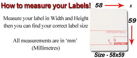 Measuring your Scale Label